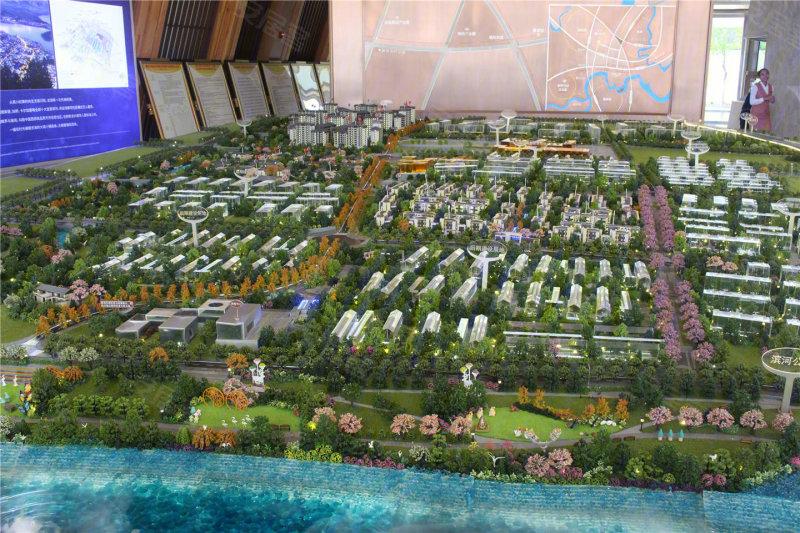 长滩龙湖原麓快景观设计别墅题图片