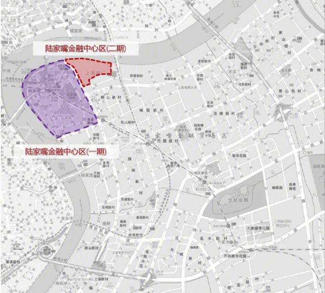 上海陆家嘴金融城二期地块-交通图(8) - 上海安居客