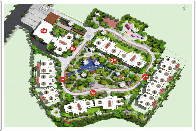 新城澜樾府规划图