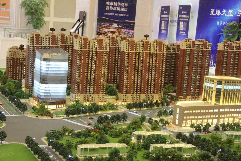 济南海尔地产天玺-沙盘图(224) - 济南安居客