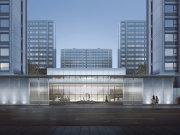 西安必威体育app官方版下载开发区高铁新城绿城复地·柳岸晓风楼盘新房真实图片