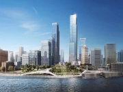 上海黄浦黄浦滨江绿地海珀外滩楼盘新房真实图片