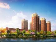 天津静海团泊湖天津富力新城楼盘新房真实图片