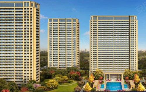 綠城二期法式風格高層,小高層即將面世,面積103到143