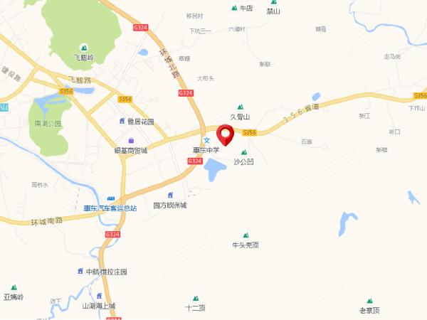 惠东港口镇地图