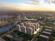 上海金山亭林复地湖畔和光楼盘新房真实图片