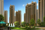 北京周边廊坊荣盛阿尔卡迪亚花语城楼盘新房真实图片