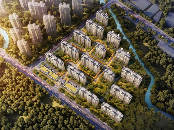 中海铂悦公馆楼盘建筑物外景