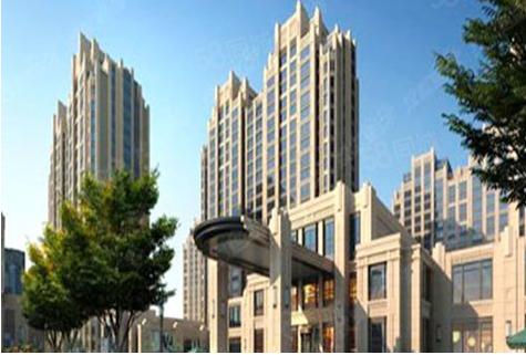 海山中心广场楼盘建筑物外景