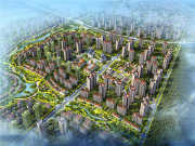成都周边环成都环球融创未来城楼盘新房真实图片
