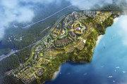晋宁古滇片区环球融创滇池南湾未来城楼盘新房真实图片