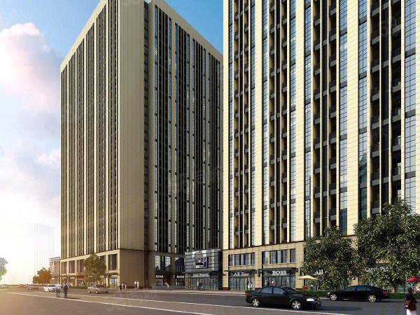 吾悦广场M公寓建筑外立面图