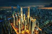 和平南市天津大都会楼盘新房真实图片