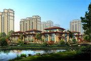 北京周边廊坊荣盛霸州温泉城楼盘新房真实图片