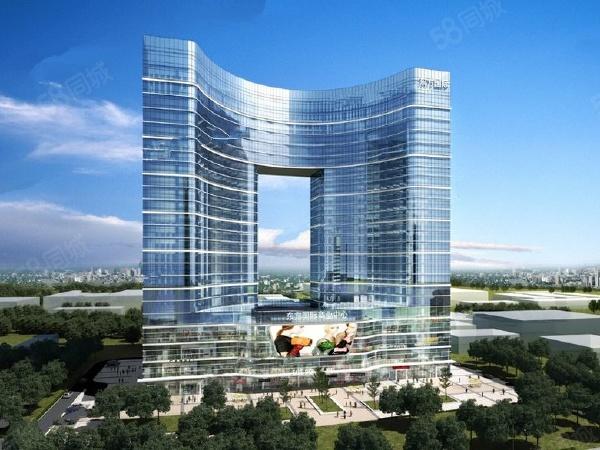 东方国际楼盘建筑物外景