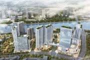 通州运河核心区通州富力中心B座楼盘新房真实图片
