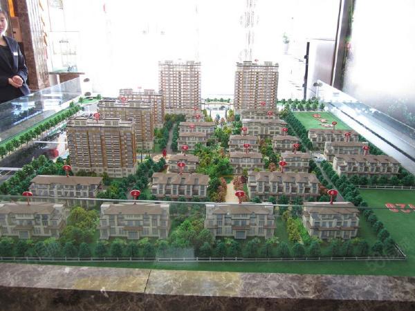 清城美墅规划沙盘