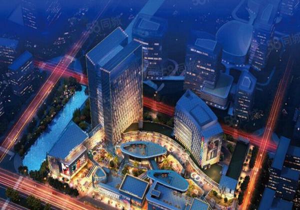瑞安中润广场楼盘建筑物外景