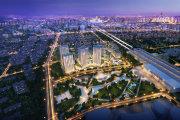 北京周边涿州万科城际之光楼盘新房真实图片