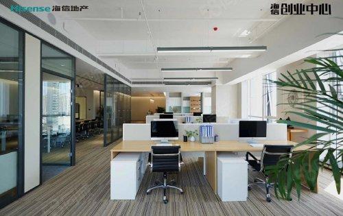 海信创业中心大厦 170-1700平可自由分隔