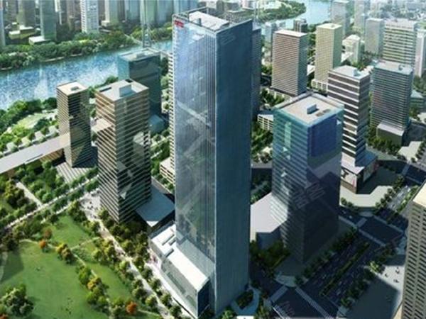 滨海国贸中心楼盘建筑物外景