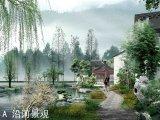 上湖溪岸位于国家4A旅游古镇