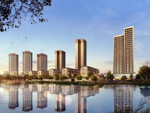 金辉优步湖畔楼盘建筑物外景