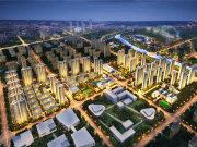 郑州经开国际物流园区绿都东澜岸楼盘新房真实图片