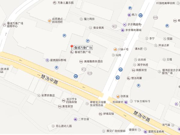 春城万象广场楼盘区位规划
