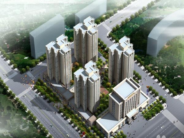 智慧城5期楼盘建筑物外景