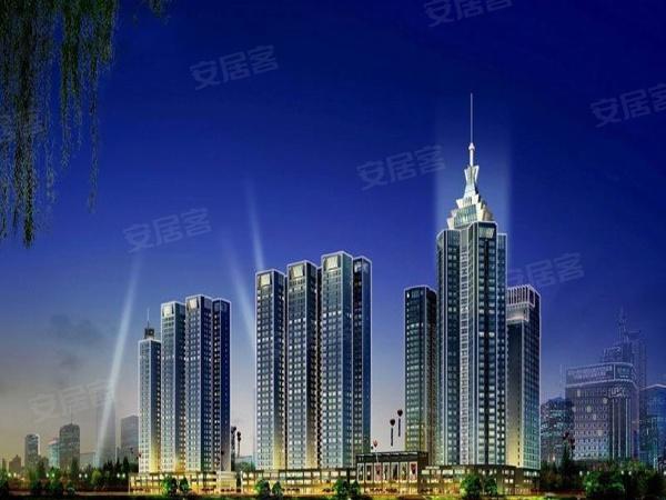 大秦御港城项目分两期开发,一期规划5栋精品住宅、一栋33层城市地标以及甲级写字间