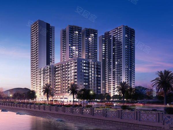香滨水岸楼盘建筑物外景