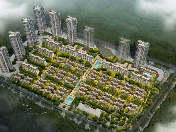 惠州花样年家天下楼盘建筑物外景