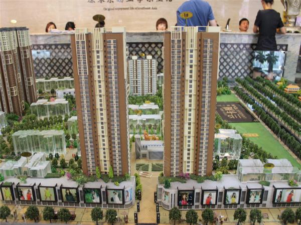 翠屏湾3期巴厘小镇项目三期2栋高层33层,面积区间84-113㎡的2-3室;