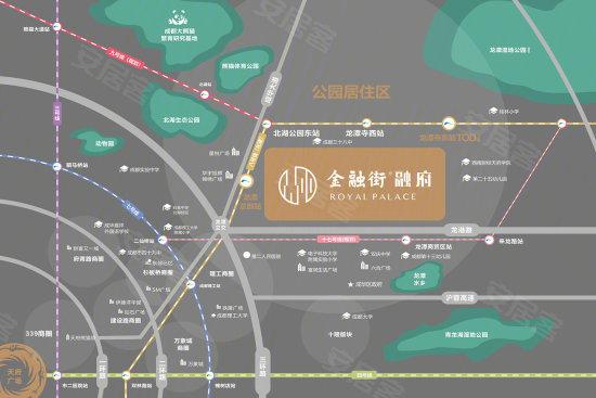 金融街融府交通图