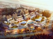 长沙岳麓滨江新城绿地湖湘中心楼盘新房真实图片