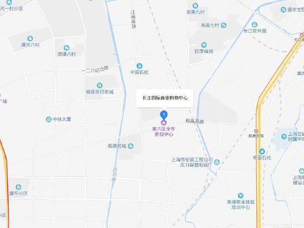 长江国际商业购物中心楼盘区位规划