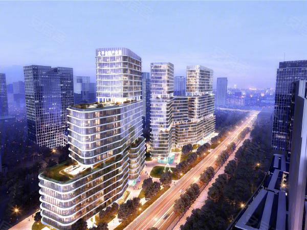 太平金融产业港楼盘建筑物外景