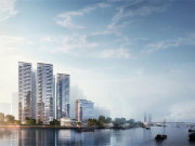 广州海珠南洲中海观澜府楼盘新房真实图片