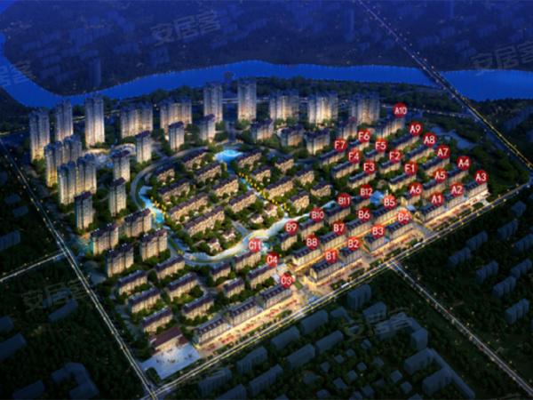 建大未来城楼盘建筑物外景