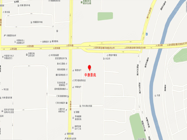 中惠景苑楼盘区位规划
