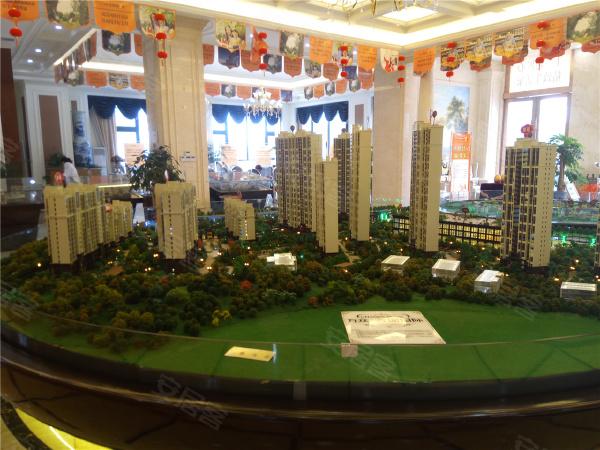 万众·香榭国际规划沙盘