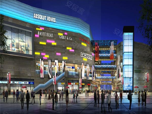 中贸广场项目是个综合体,规划有大面积的商业