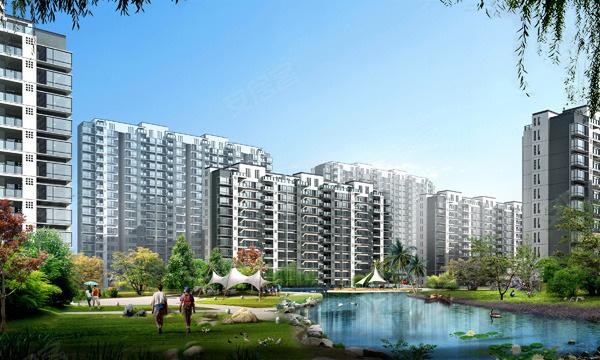 香城花园四期楼盘建筑物外景