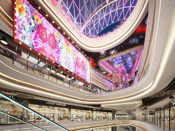 佛山天虹购物中心楼盘建筑物外景