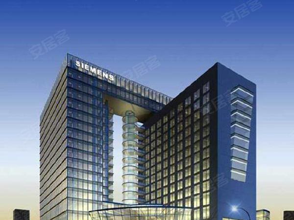 绿地东上海商铺楼盘建筑物外景