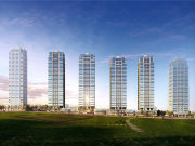 重庆渝北中央公园公园大道楼盘新房真实图片