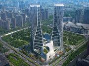 杭州上城钱江新城杭州来福士广场楼盘新房真实图片