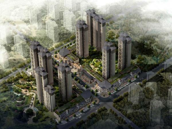 龙湖水晶郦城项目总共规划8幢房源。一期规划为1#、2#、3#、4#楼,2梯4户设计,总高33层