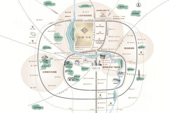 保利时代 时代荟交通图